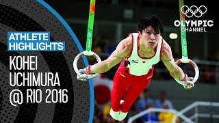 All Kohei Uchimura 🇯🇵 Medal Routines at Rio 2016 | Athlete Highlights