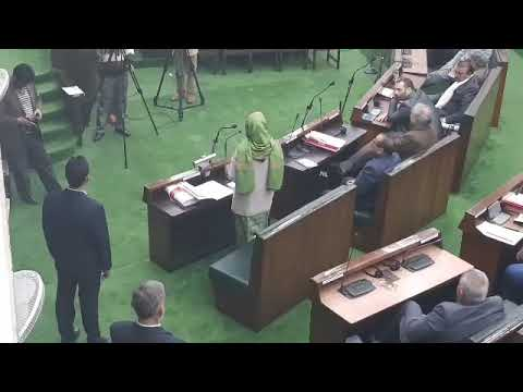 Chief Minister Mehbooba Mufti in JK Assembly On the issue