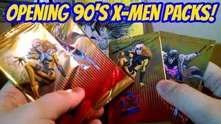 Opening Up 90s X-Men Trading Cards!