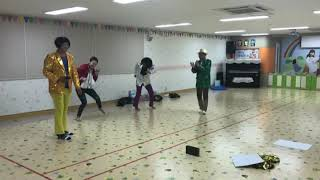 인천 제2교회 체육대회 가족응원단