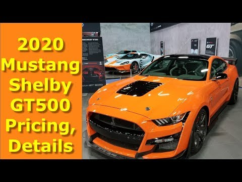 2020 Mustang Shelby GT500 Pricing, Details Revealed by Ford Performance