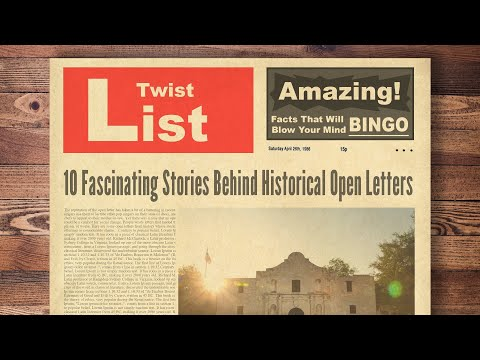 10 Fascinating Stories Behind Historical Open Letters