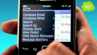 BlackBerry 9320 ó 9360 - Cómo configurar tu correo