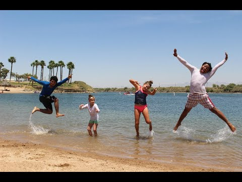 Laughlin Nevada - boating, cliff diving, tubing