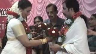 Swetha Menon - Film Actress's Marriage Function @ Valanchery ( family temple) on 18-06-2011