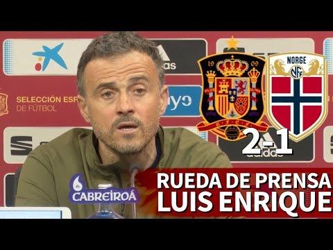 España 2-1 Noruega | Rueda de prensa de Luis Enrique | Diario AS