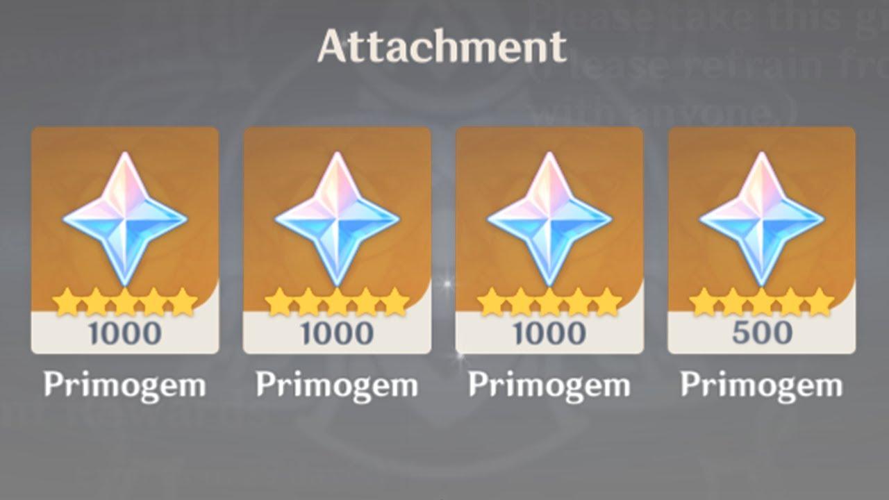 how I got mihoyo to give me 3500 primogems