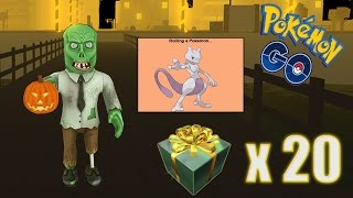 ROBLOX POKEMON GO - THE GIFT OPENING #9 - DOTHAKING115