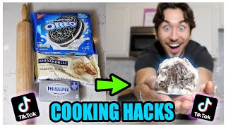 We TASTED Viral TikTok Cooking Life Hacks... (DELICIOUS!) *Part 2*