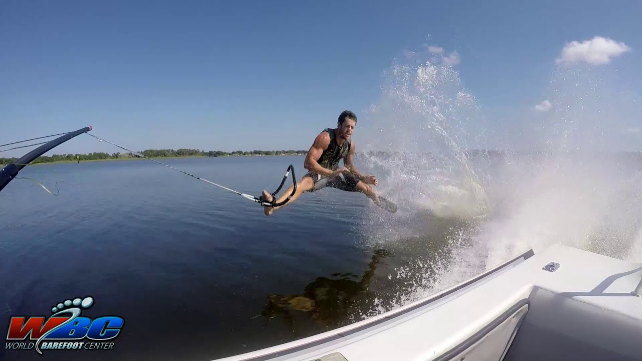 60 Huge Barefoot Waterskiing Crashes In 3 Minutes Youtube