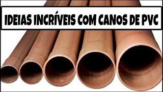IDEIAS INCRÍVEIS PARA CASA FEITAS COM CANOS DE PVC | SHOW DE ARTESANATO