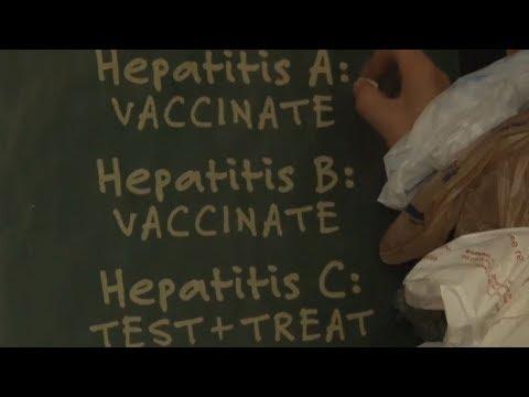 America's opioid crisis brings outbreak of Hepatitis C