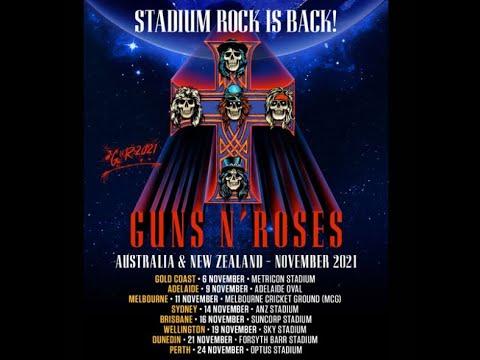 Guns N' Roses announce 2021 stadium tour in Australian and New Zealand