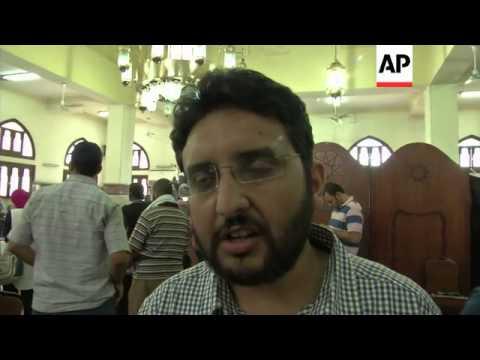 Muslim Brotherhood news conference on latest developments in Egypt
