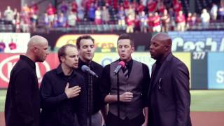 "Acappella ""National Anthem"" Texas Rangers"