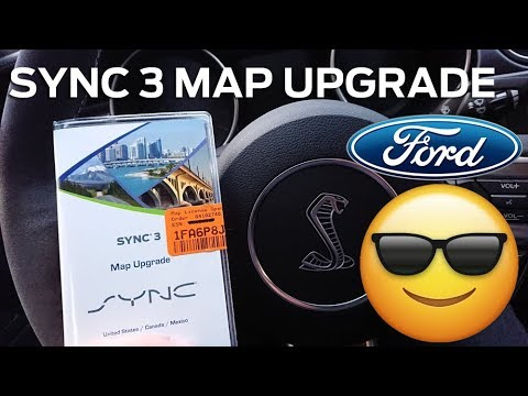 SYNC3 NAV MAP UPGRADE!! 1-14 TO 1- 16 IN 4K VIDEO!