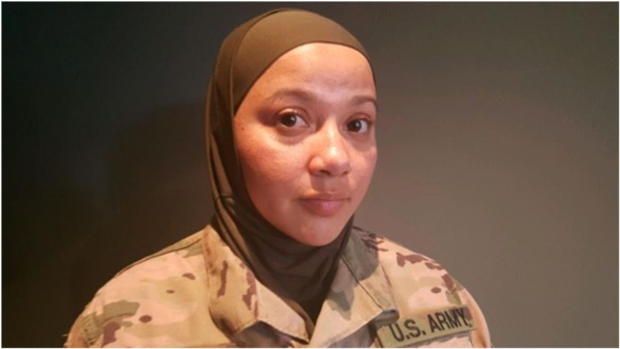 Just a reminder > A Muslim soldier says she's suing the Army for being told to remove her hijab