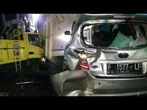 Kecelakaan Beruntun di Sukabumi Libatkan 8 Kendaraan Bermotor, 5 Orang Luka luka