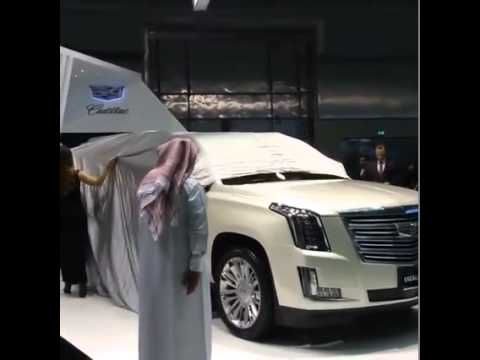 Cadillac Revealing The Top Of The Line Escalade Esv Youtube