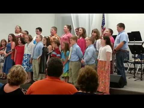 I'll Fly Away & 10,000 Reasons as perfomred by Wise County Christian School Youth