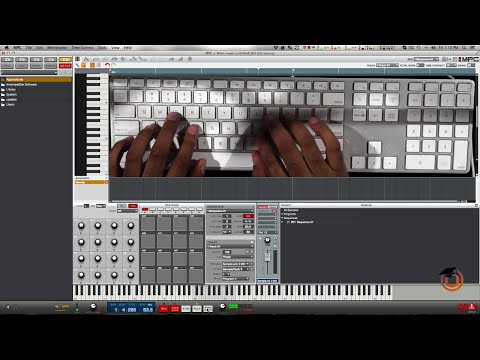 How to Make a Beat in MPC Software using Computer Keyboard