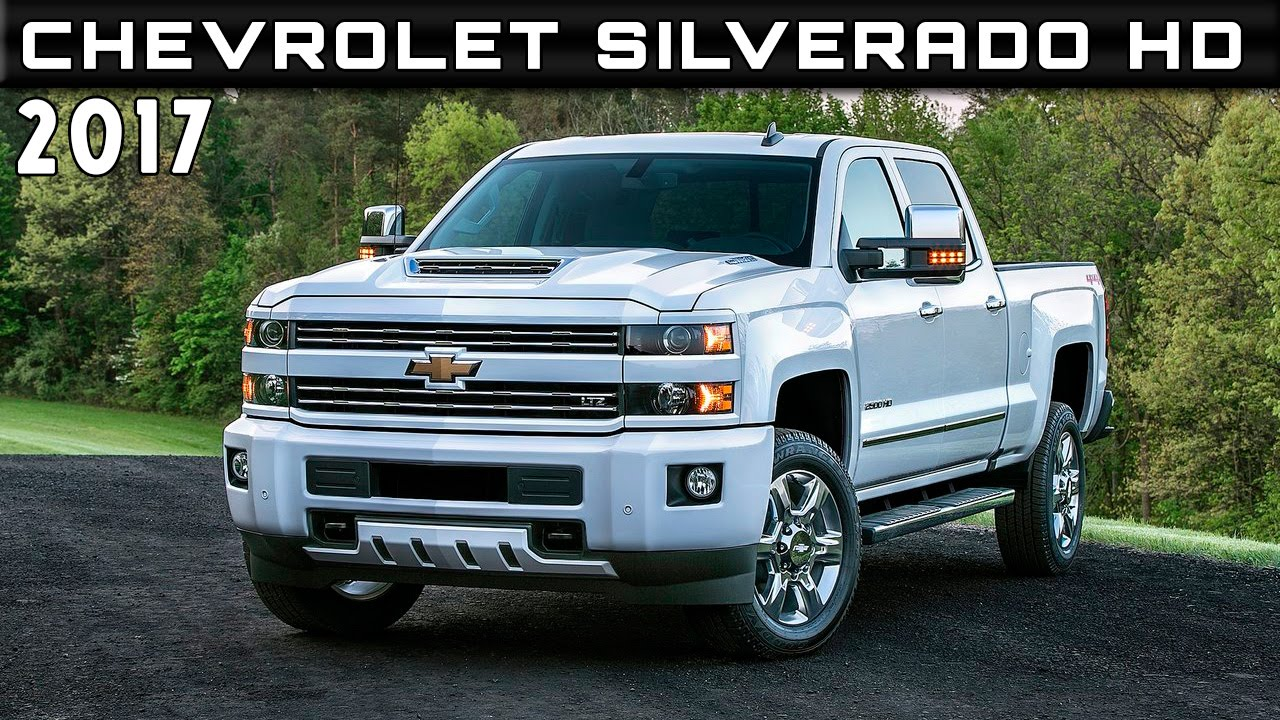 2017 Chevrolet Silverado Hd Review Rendered Price Specs Release Date