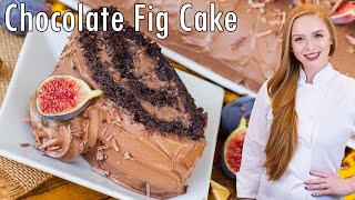 Chocolate Fig Roulade