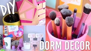 Diy Dorm Room Decor For Back To School/college   Pinterest And Tumblr Inspired