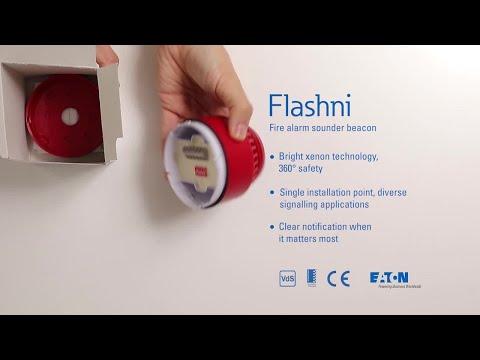 Unboxing the Flashni fire alarm sounder beacon