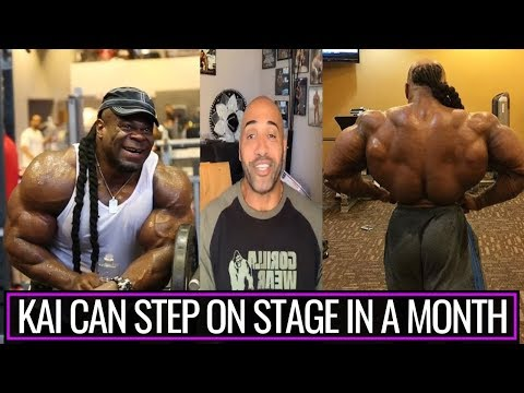 All bodybuilding  should unite to bring KAI GREENE back to MR OLYMPIA 2019:DENNIS JAMES