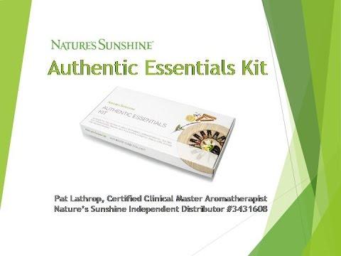 Nature S Sunshine Essential Oils Kit