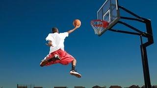 Невероятные баскетбольные трюки. Лучшие слэм данк броски мяча