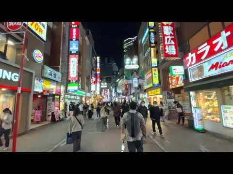 4K HDR 60FPS iPhone 12 Pro Test - Tokyo Shibuya Night Walk