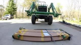 John Deere Tractor 3038e - Pallet Forks (Part 1 of 3)