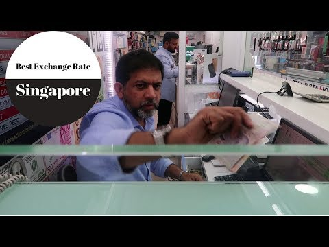 Best Place to Exchange Money in Singapore||