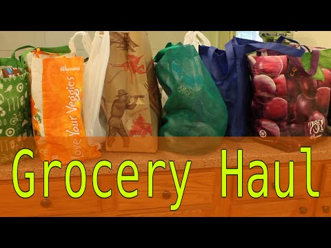 Grocery Haul - Wegmans, Trader Joes, Whole Foods