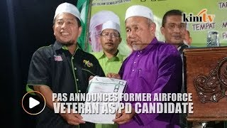 PAS announces candidate for Port Dickson by-election