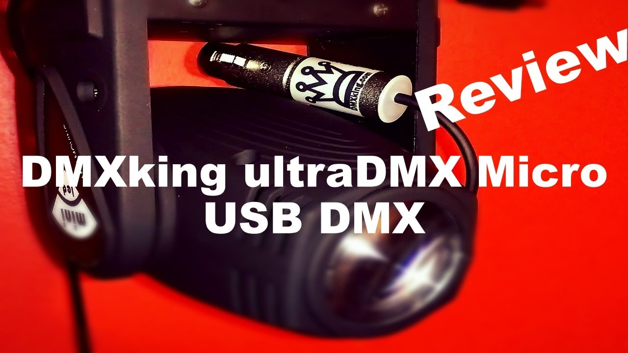 DMXKing ultraDMX Micro Review | Freestyler DMX512 | DMX With
