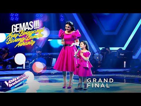 Arsy & Ashanty - Snowman | Grand Final | The Voice Kids Indo