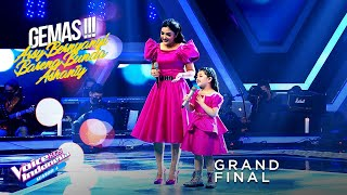 Arsy & Ashanty - Snowman | Grand Final | The Voice Kids Indonesia Season 4 GTV 2021