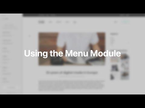 Using The Menu Module | YOOtheme Documentation (Joomla)