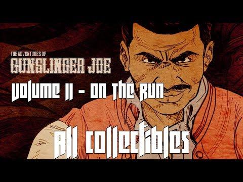 Wolfenstein II: Gunslinger Joe - Volume 2 - On The Run - ALL COLLECTIBLES |