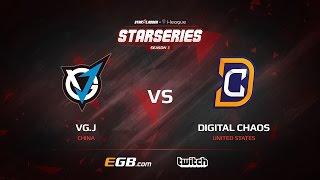 VG.J vs Digital Chaos, Game 2, SL i-League StarSeries Season 3, LAN-Final