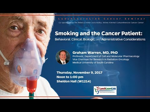 Smoking and the Cancer Patient: Behavioral, Clinical, Biologic, and Administrative Considerations