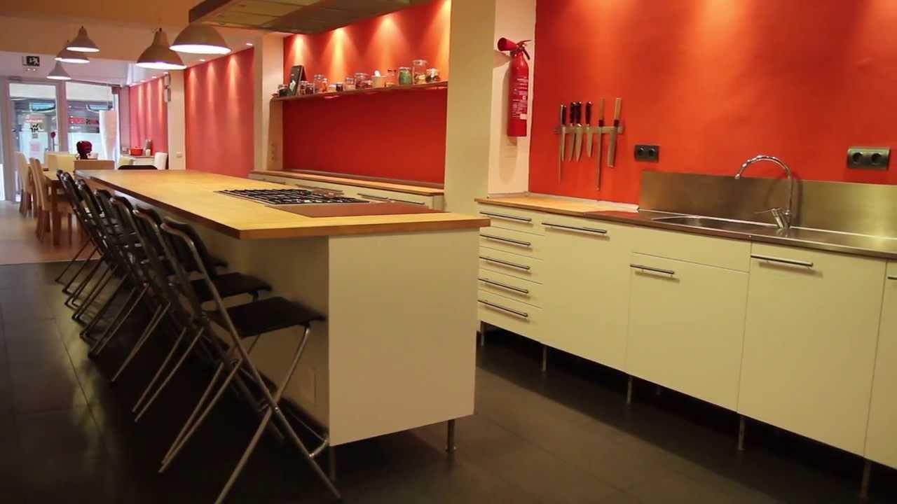 Escuela de cocina coquus youtube for Escuela de cocina