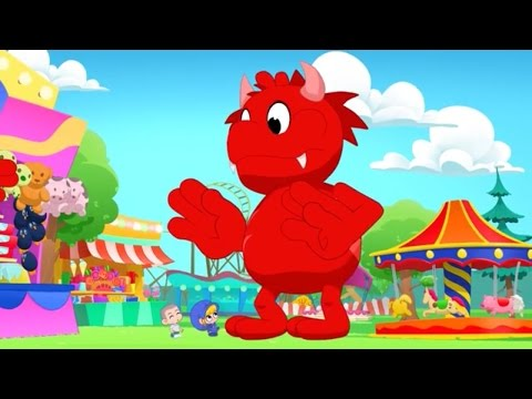 Morphle at the Carnival! My Magic Pet Morphle Animation Episodes For Kids.