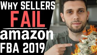 Why You'll Fail On Amazon FBA and How To Step Up Your Game