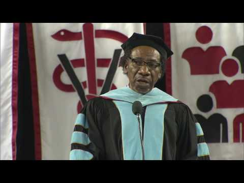 Dean Maurice Daniels, Graduate Commencement Speaker