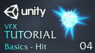unity vfx tutorials 04 basics hit