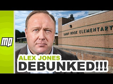 Debunking Alex Jones and Wolfgang Halbig's ludicrous Sandy Hook Conspiracy Theories